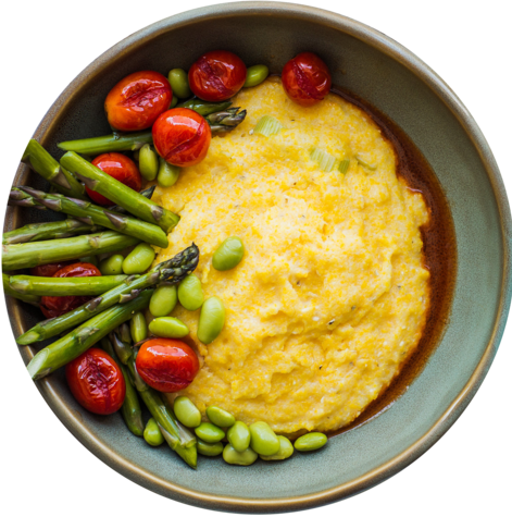 Medium vegan polenta